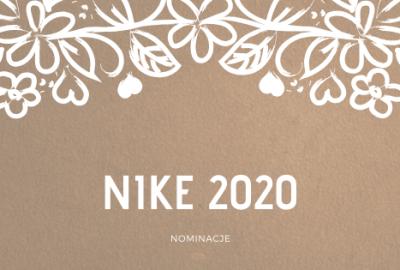 NIKE 2020 400x270 - Nagroda Literacka Nike 2020: nominacje